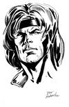 Gambit - BW Drawing 1