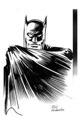 Batman - BW Drawing 1