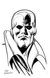 Vision - BW Drawing 2
