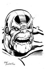 Thanos - BW Drawing 2