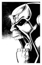 Thanos - BW Drawing 3