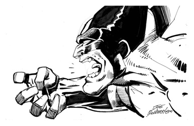 Wolverine - BW Drawing 1
