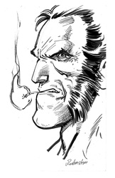 Wolverine - BW Drawing 2