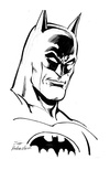 Batman - BW Drawing 3