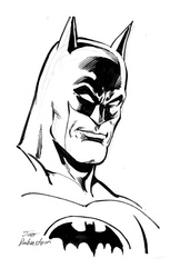 Batman - BW Drawing 3