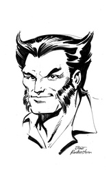 Wolverine - BW Drawing 5