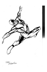 Daredevil - BW Drawing 1