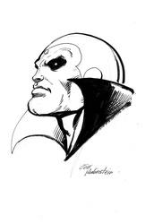Vision - BW Drawing 1