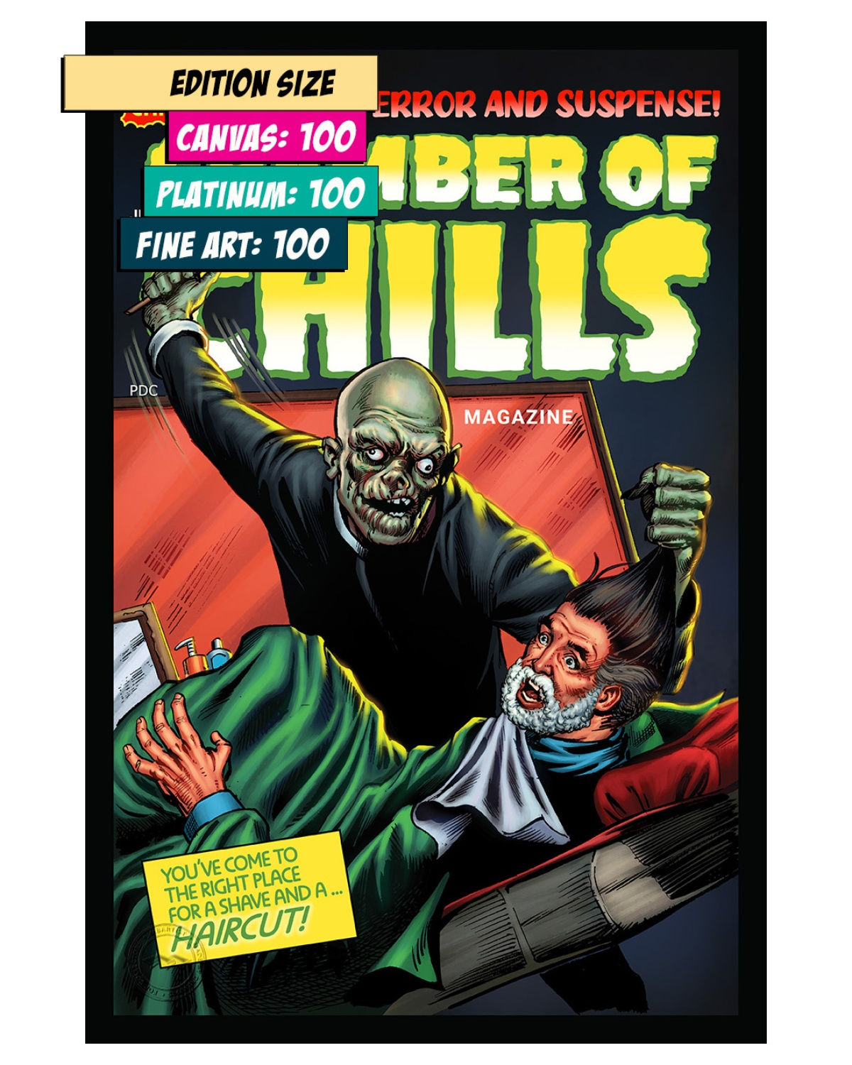 CHAMBER OF CHILLS 18: BARBERSHOP OF HORROR