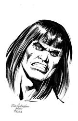 Conan - BW Drawing 1