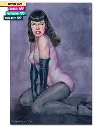 BETTIE PAGE: QUEEN OF PINUPS