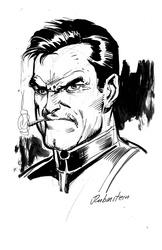 Punisher - BW Drawing