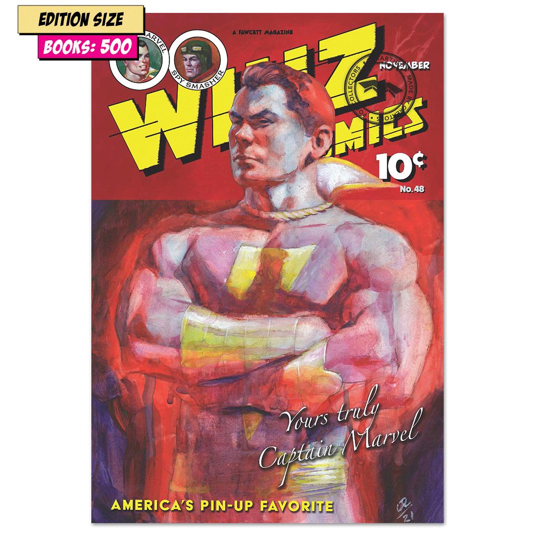 Book - WHIZ COMICS #48: REPRINT