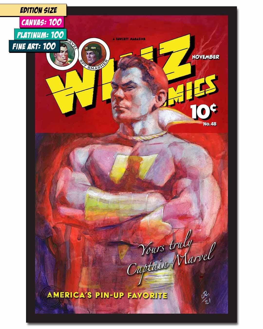 WHIZ COMICS #48: RECREATION