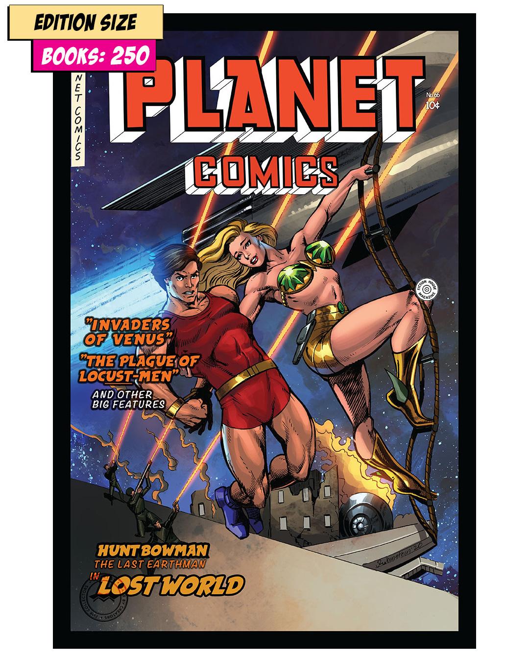Book - PLANET COMICS #66 PARTIAL: REPRINT