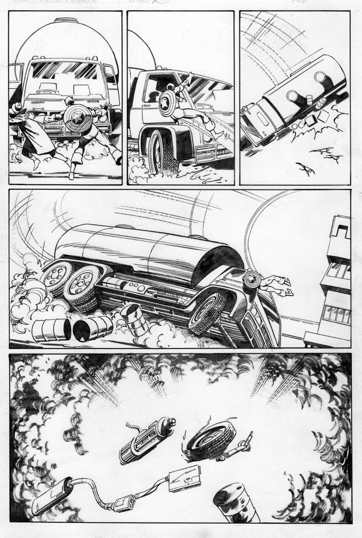 Captain America 256, P.6: Joe Rubinstein Inks, John Byrne Pencils